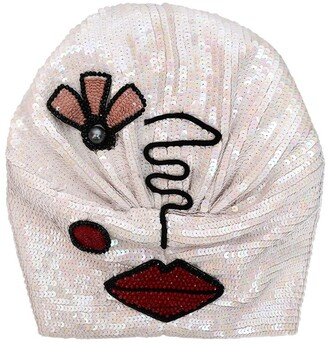 MaryJane Claverol Priscilla Sequined Turban