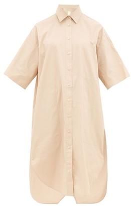 BEIGE Lee Mathews - Workroom Cotton-poplin Shirtdress - Womens