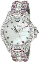 Juicy Couture Women's 'Malibu' Quartz Stainless Steel Casual Watch, Multi Color (Model: 1901435)