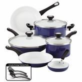 Farberware purECOok Ceramic Nonstick Cookware 12-Piece Cookware Set in Blue