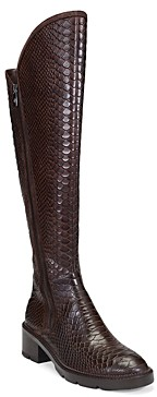 Donald J Pliner Women's Soffie Python Embossed Leather Tall Boots