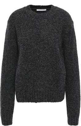 Helmut Lang Brushed Melange Knitted Sweater