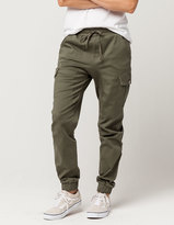 Almost Famous Premium Twill Womens Jogger Pants
