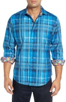 Robert Graham 'S.S. Lazio' Regular Fit Sport Shirt