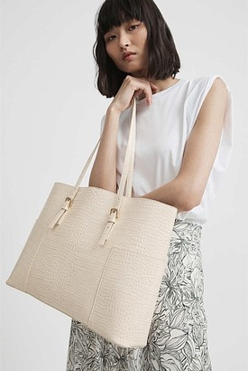 Witchery Laura East West Tote