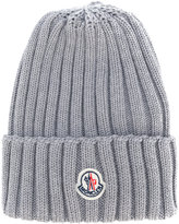 Moncler classic knitted beanie hat - women - Virgin Wool - One Size