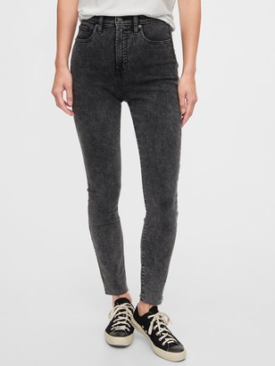 Gap Sky High Rise True Skinny Jeans with Secret Smoothing Pockets