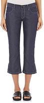 Comme des Garcons Women's Lightweight Twill Crop jeans-NAVY