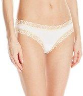 Fleurt Fleur't Women's Bottom Drawer Low Rise Thong Panty