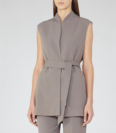 Reiss Karmine Gilet Fluid Sleeveless Jacket