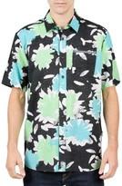 Volcom Men's Ballast Cotton Blend Woven Shirt