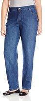 Gloria Vanderbilt Women's Plus-Size Amanda Classic Fit Jean