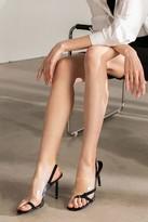 J.ING Vexxer PVC Heels in Black