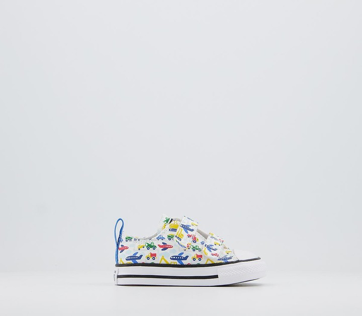 Converse 2vlace Trainers White Multi Vehicle Exclusive
