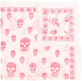 McQ skull print scarf