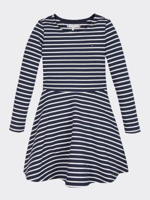 Tommy Hilfiger Essential Striped Skater Dress