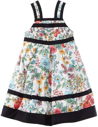 Brooks Brothers Printed Tank Dress