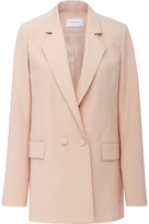 Carven Single Breasted Long Blazer