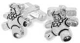 Torrini Sterling Silver Teddy Bear Cufflinks