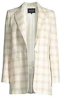 Lafayette 148 New York Women's Whitney Textured Plaid Jacket