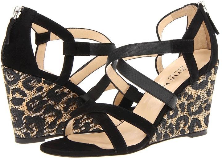 Marvin K - Elena (Black Nappa Suede) - Footwear