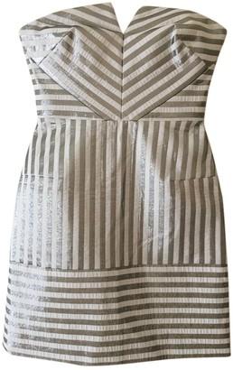 Richard Nicoll Silver Cotton Dress for Women