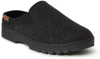Dearfoams Men's Microwool Clog Slippers - Oscar