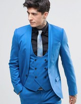 Noose & Monkey Super Skinny Suit Jacket With Stretch