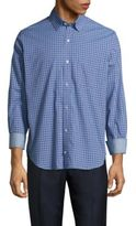Tailorbyrd Regular-Fit Brisbane Neat Square Cotton Sportshirt