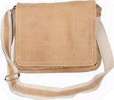 David King 6111 Distressed North/South Messenger Bag