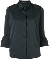 Marc Jacobs frill-hem fitted blouse