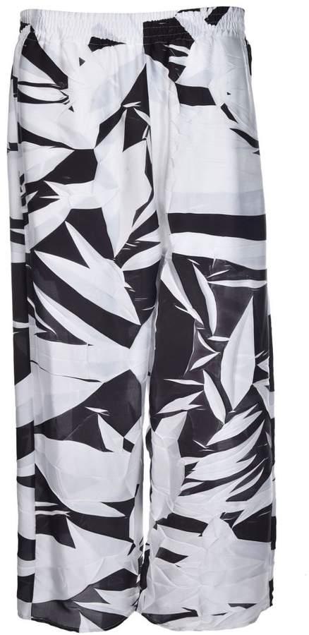 MM6 MAISON MARGIELA Plisse Cropped Trousers
