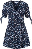 Glamorous Petites **Ditsy Floral Print Wrap Front Dress by Glamorous Petite