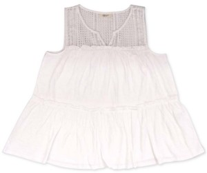 Style&Co. Style & Co Embroidered Sleeveless Tunic, Created for Macy's