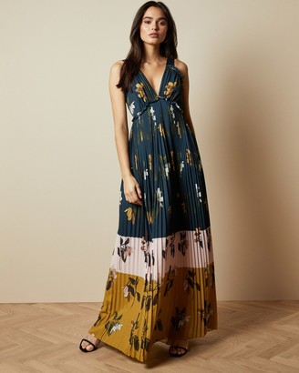 Ted Baker KAYLARE Savanna V neck maxi dress