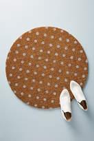Anthropologie Polka Dot Doormat