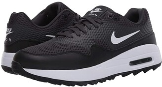 Nike Air Max 1 G (Black/White/Anthracite/White) Women's Golf Shoes