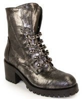275 Central - 4319 - Metallic Leather Bootie