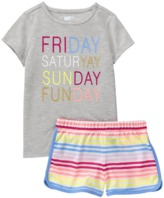 Crazy 8 Weekend 2-Piece Shortie Pajama Set