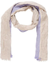 Brunello Cucinelli Cashmere Striped Scarf
