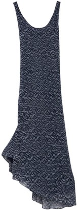 Diane von Furstenberg Talia Asymmetrical Patterned Dress