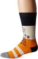 Stance Men's Valve Pin-Up Striped Arch Support Classic Crew Sock