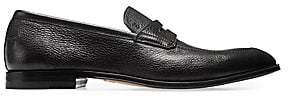 Bally Men's Webb Grained Leather Penny Loafers
