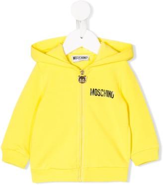 MOSCHINO BAMBINO Printed Logo Hoodie