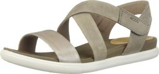 Ecco Women's Damara Crisscross Flat Sandal