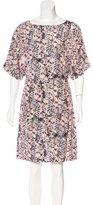 See by Chloe Silk Printed Dress