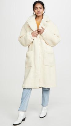 Free People Tessa Teddy Coat