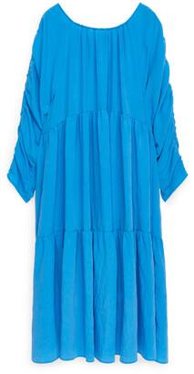 Arket Lyocell Tier Dress