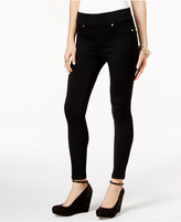 Thalia Sodi Black Wash Jeggings, Only at Macy's