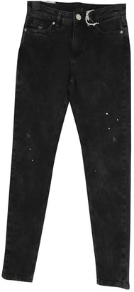Zoe Karssen Black Cotton Jeans for Women